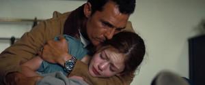 Hooper et sa fille (Interstellar)