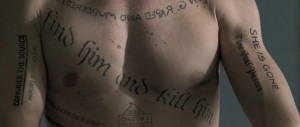 Le corps de Léonard (Memento)