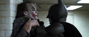 Le duel joker-batman (The dark knight)